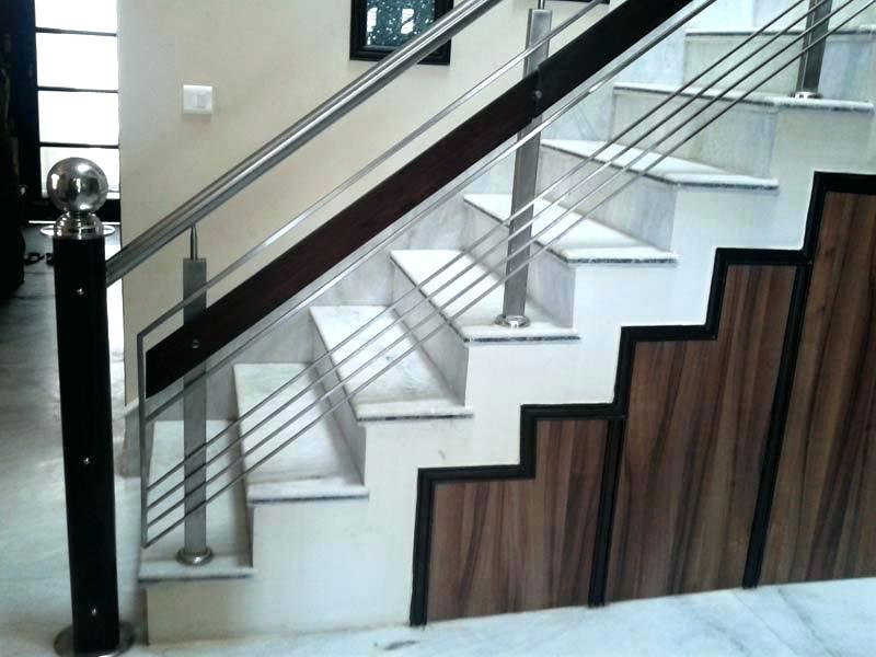 Stainless Steel Stair Parts Modern Railing Components ...