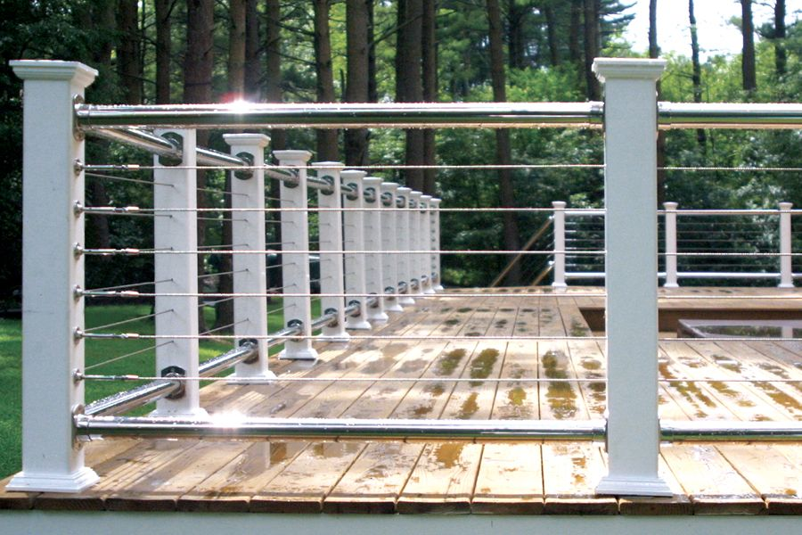 Deck Railing Photo Gallery - Stainless Steel & Cable ...